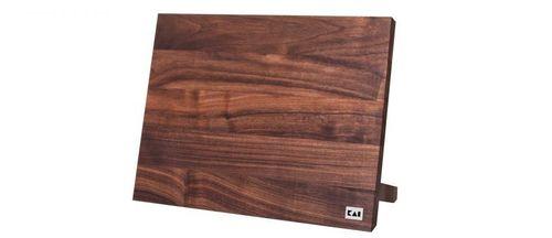KAI Magnet Messerblock Messerhalter Walnussholz 34 x 26,5 cm DM-0806