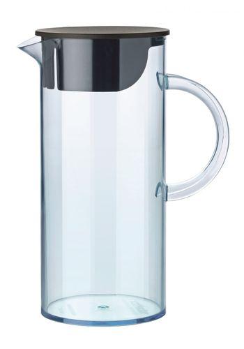 STELTON EM Kanne + Deckel Wasserkanne Karaffe Krug 1,5 L blau 1310