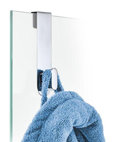 BLOMUS Edelstahl Duschwandhaken AREO Haken für Glasduschwand poliert 68915 – Bild 1