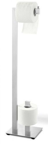 ZACK Edelstahl Toilettenpapier- Butler LINEA WC-Rollenhalter 40379 – Bild 1