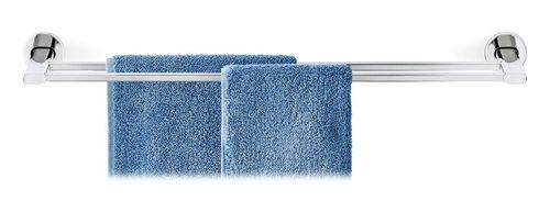 BLOMUS Edelstahl doppel-Handtuchstange AREO Handtuchhalter poliert 69 cm 68932 – Bild 1