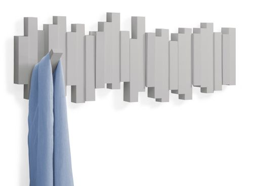 UMBRA STICKS MULTI HOOK 5er Garderobenleiste Hakenleiste grau 318211-918 – Bild 3