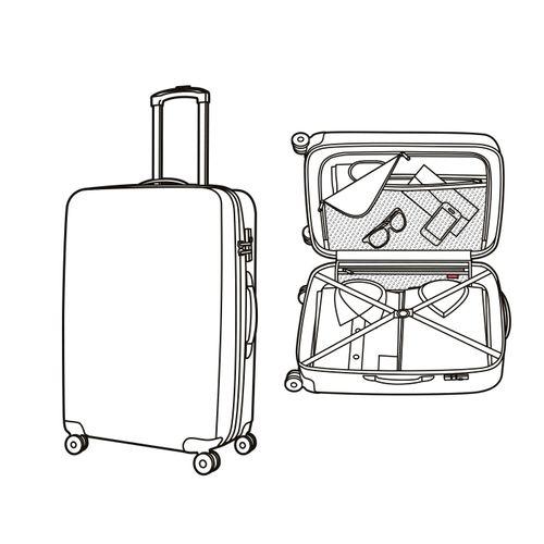reisenthel Reisekoffer suitcase Set Koffer Special Edition Stamps LZ0001 – Bild 5