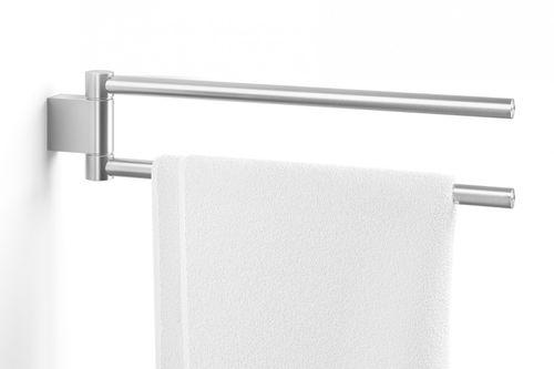 ZACK Edelstahl Doppel- Handtuchhalter ATORE  Handstange Handtuchhalter 40424 – Bild 1