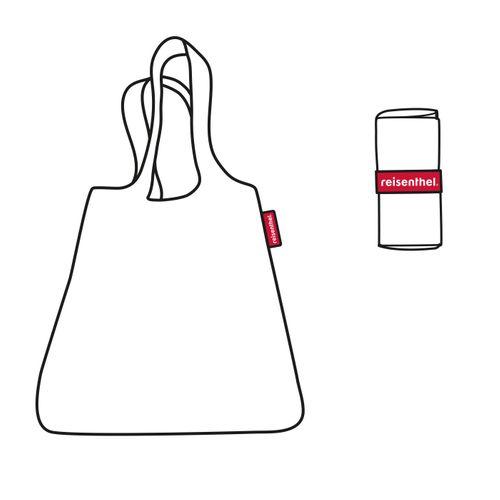 reisenthel mini maxi shopper Schultertasche Tasche faltbar ruby dots AT3014 – Bild 5