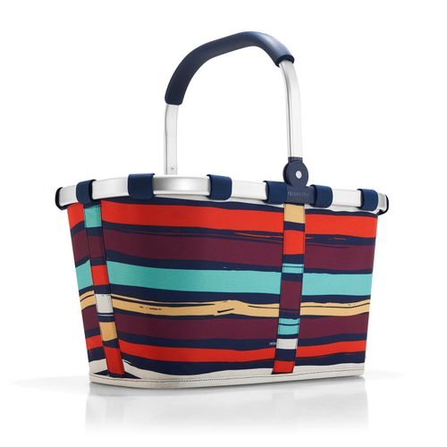 reisenthel Einkaufskorb Tasche Korb carrybag artist stripes BK3058 – Bild 1