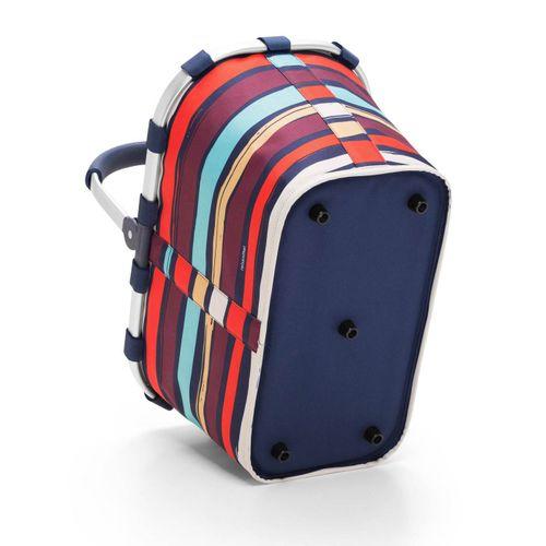 reisenthel Einkaufskorb Tasche Korb carrybag artist stripes BK3058 – Bild 2