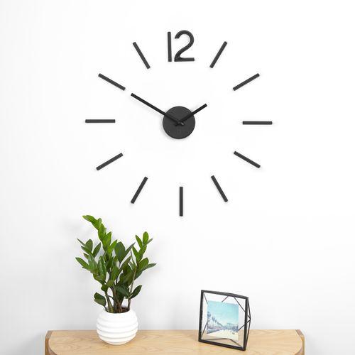 UMBRA BLINK CLOCK Wanduhr Uhr schwarz 1005400-040 – Bild 1