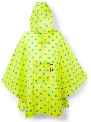 reisenthel mini maxi poncho Regenjacke Regencape faltbar lemon dots AN2025 – Bild 1