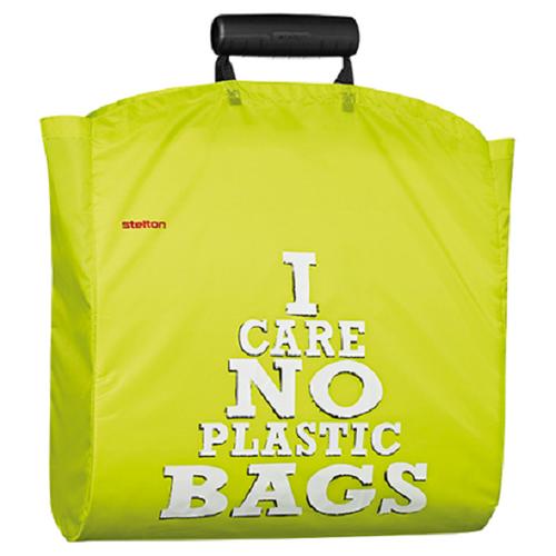 STELTON Shopper Tasche Einkaufstasche Einkaufsbeutel pistazie grün Nylon 1600-16