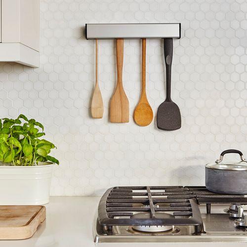 Umbra Float Utensil Holder Küchenutensilienhalter Halter Küchengerätehalter Nickel 1004326-410 – Bild 4