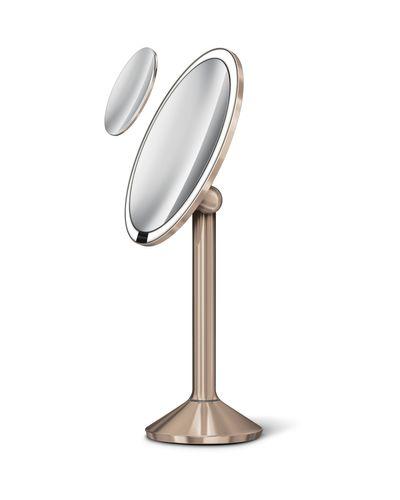 simplehuman Sensorspiegel 20 cm Kosmetikspiegel Standspiegel Spiegel rose gold ST3011 – Bild 4