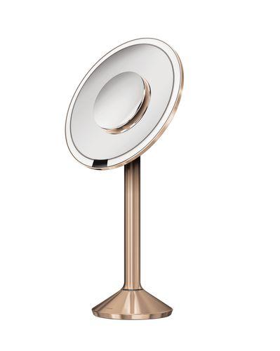 simplehuman Sensorspiegel 20 cm Kosmetikspiegel Standspiegel Spiegel rose gold ST3011 – Bild 1