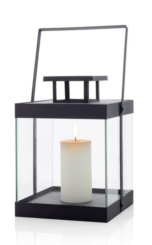 BLOMUS Edelstahl Laterne FINCA klein 30,5 cm Kerzenhalter Leuchter 63686