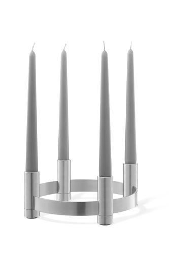 ZACK Edelstahl Kerzenhalter LUMES Kerzenständer Kerzenleuchter Geschenk 40705 – Bild 1