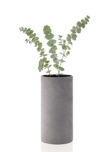 BLOMUS Vase COLUNA Blumenvase 24 cm dunkelgrau Geschenk 65626 – Bild 1