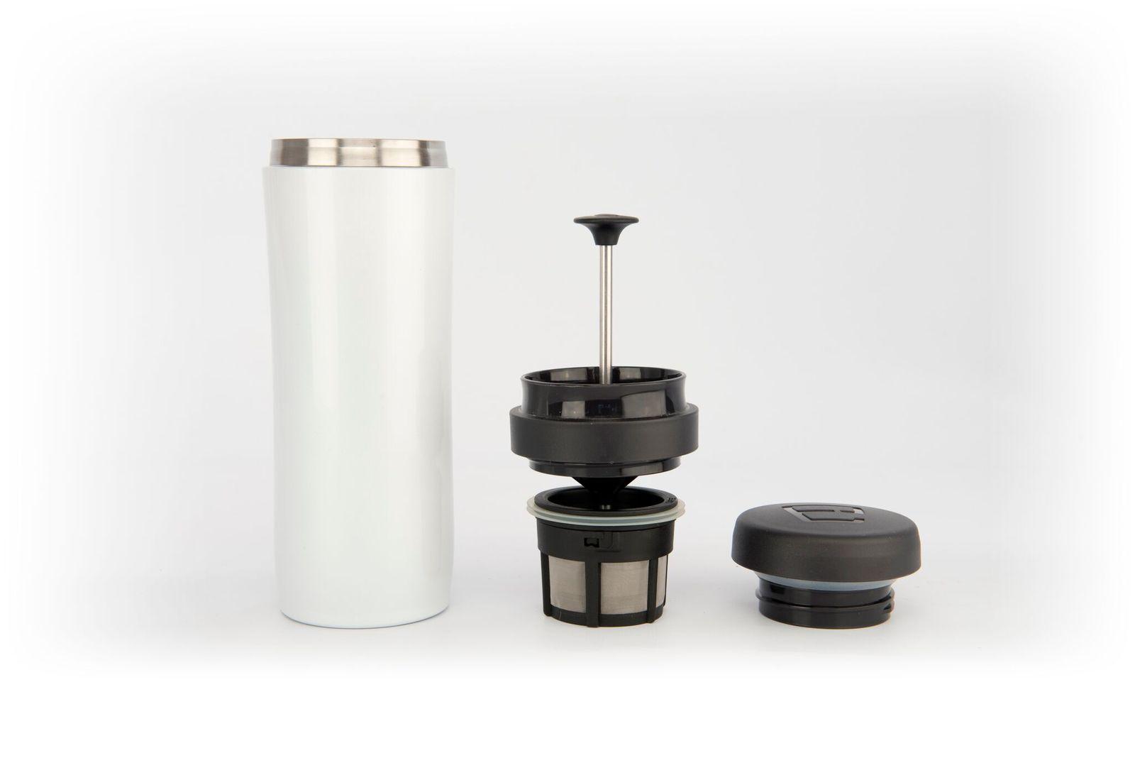 Kaffeefilter Edelstahl espro kaffeebereiter travel press mit kaffeefilter edelstahl 350 ml