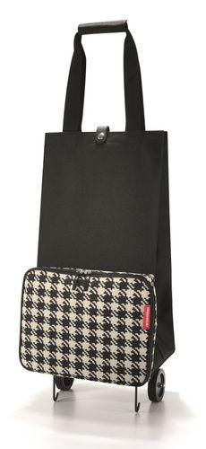 reisenthel foldabletrolley Trolley Einkaufstasche Tasche fifties black HK7028 – Bild 1