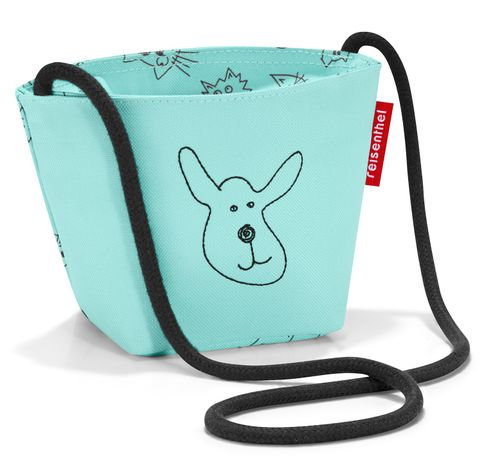reisenthel minibag kids Kindertasche Tasche cats and dogs mint grün IV4062