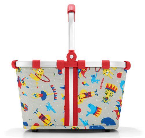 reisenthel carrybag XS kids Einkaufskorb Kinderkorb circus red IA3063 – Bild 2
