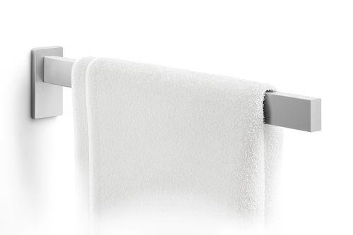 ZACK Edelstahl Handtuchhalter LINEA Handtuchstange matt 42 cm ohne bohren 40397 – Bild 2