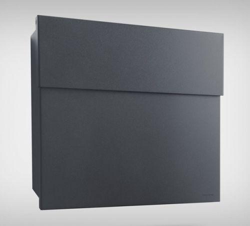 Radius Design Briefkasten Postkasten Wandbriefkasten Letterman 4 anthrazit 560g