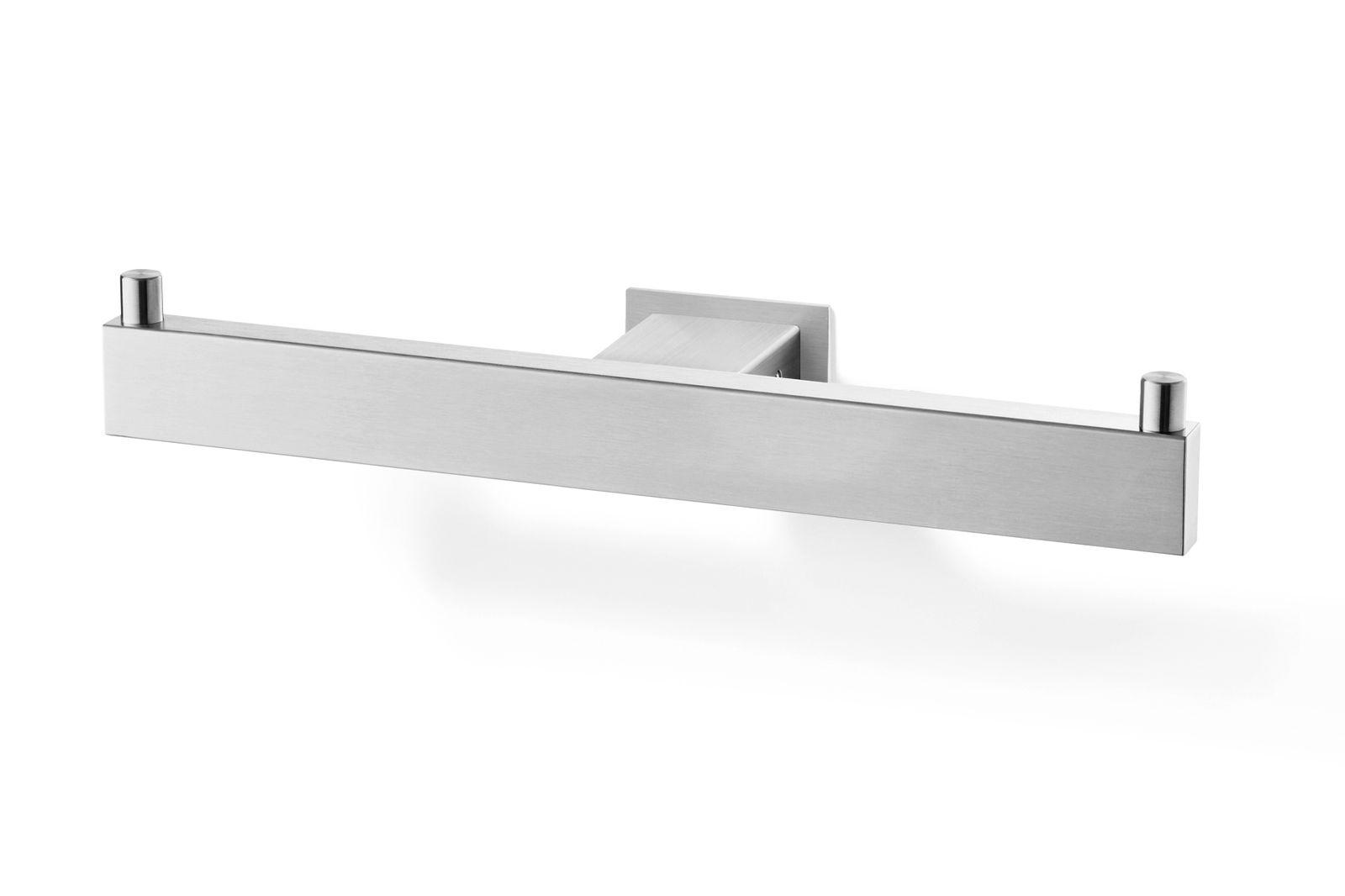 zack doppel toilettenpapierhalter linea wc rollenhalter edelstahl matt 40370 bad bad edelstahl. Black Bedroom Furniture Sets. Home Design Ideas