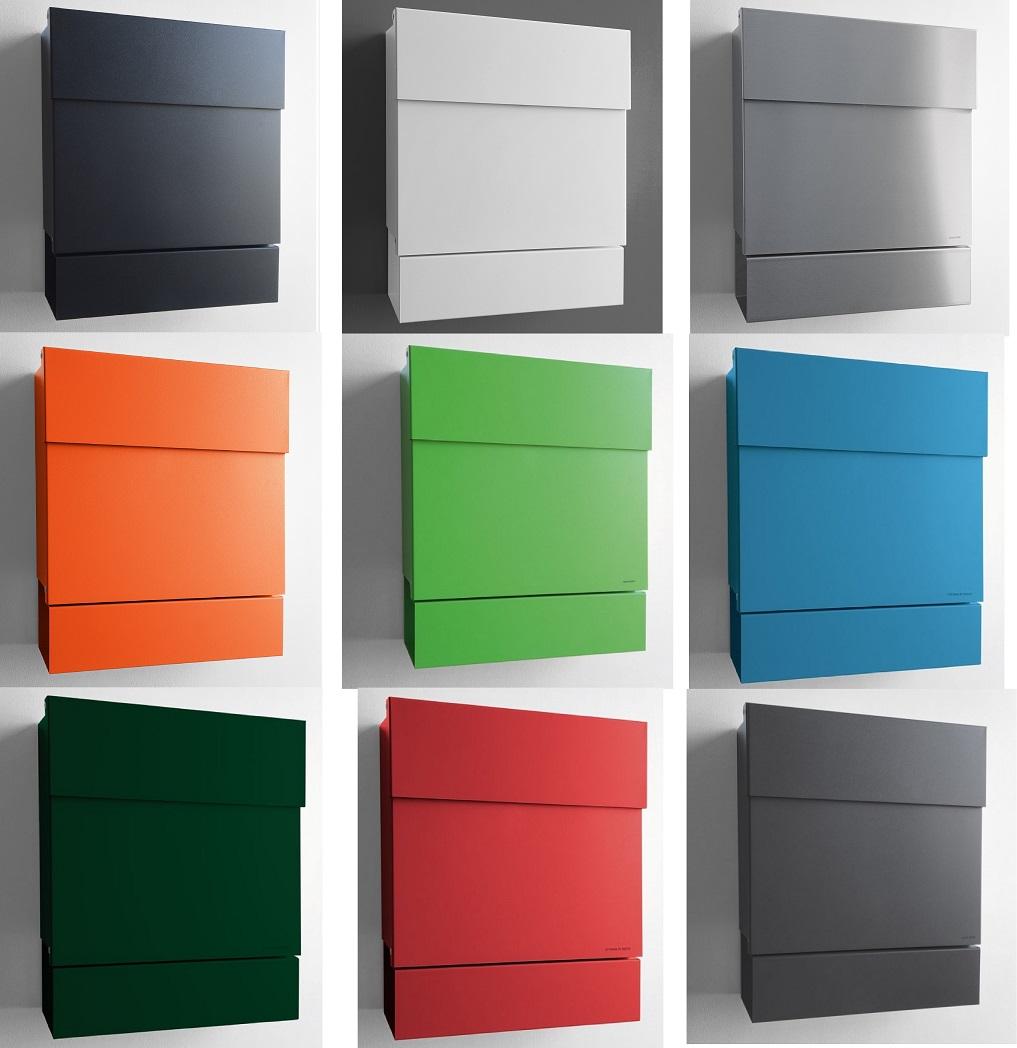 Briefkasten Lettermann radius design briefkasten letterman 5 postkasten zeitungsfach versch