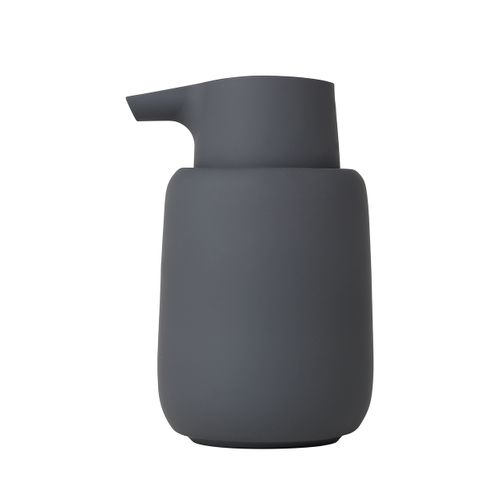BLOMUS Seifenspender SONO Lotionspender Keramik magnet anthrazit 69039