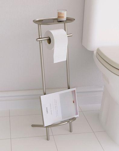 UMBRA Toilettenpapierhalter VALETTO WC-Rollenhalter 1009495-410
