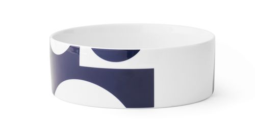 MENU Design Schale VERNER PANTON Servierschale Schüssel 24 cm groß blau 4557719