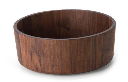 CONTINENTA Schale Dekoschale Schüssel Walnuss Holz groß 31 cm 4236