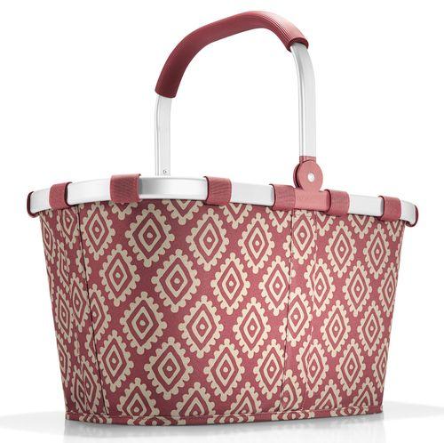 reisenthel carrybag diamonds rouge Einkaufskorb Tasche Korb Einkaufstasche rot BK3065 – Bild 1