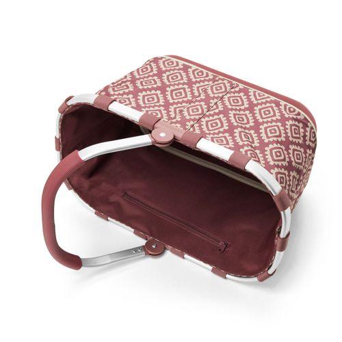 reisenthel carrybag 2 Einkaufskorb Tasche Korb diamonds rouge rot BL3065 – Bild 2