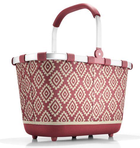 reisenthel carrybag 2 Einkaufskorb Tasche Korb diamonds rouge rot BL3065 – Bild 1
