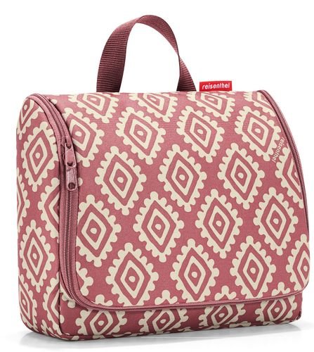 reisenthel toiletbag XL Kosmetiktasche Waschtasche diamonds rouge rot WO3065 – Bild 1