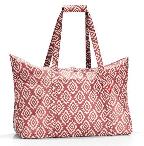 reisenthel mini maxi travelbag Tasche Reisetasche diamonds rouge rot AG3065 – Bild 1