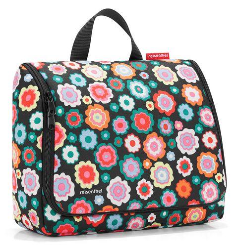 reisenthel toiletbag XL Kosmetiktasche Waschtasche happy flowers WO7048 – Bild 1
