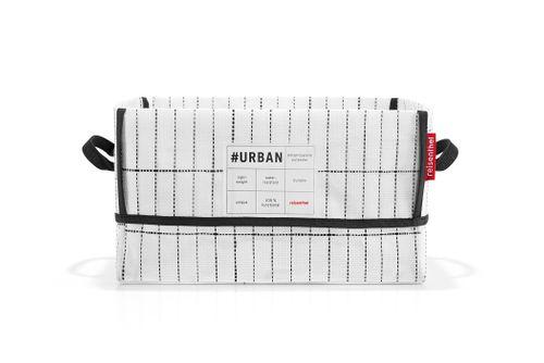 reisenthel urban box new york Aufbewahrungskorb Korb black white PH7049 – Bild 2