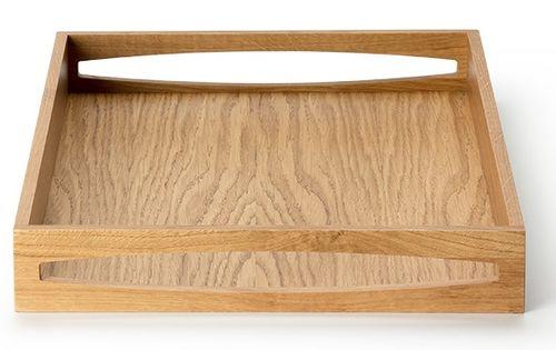 CONTINENTA Tablett Serviertablett rechteckig Eiche Holz 4140 – Bild 2