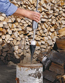 Power Spalter - Spaltaxt - Holzspalter, Firepoint