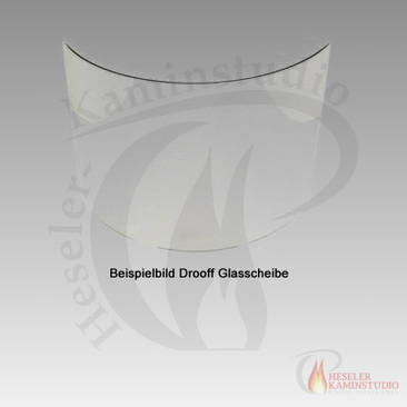 Ersatz- und Verschleißteile Drooff Andalo 2 - (Ersatz-Kaminglas)