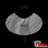 Funkenschutz Vorlegeplatte Dan Skan Logo 6 mm ESG Glas 001