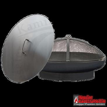 Feuerschale SET-Angebot ☆ PAN 1 mit Deckel + Funkenhaube – Bild 5