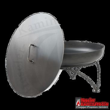 Feuerschale SET-Angebot PAN 8 + Deckel aus 2 mm Rohstahl – Bild 5