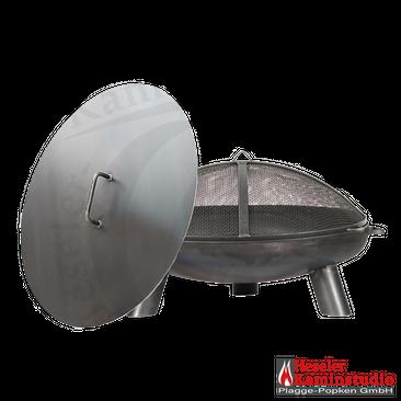 Feuerschale 2 mm Rohstahl PAN 37 + Funkenhaube + Deckel – Bild 5