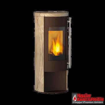 Kaminofen Olsberg Merapi mocca Sandstein ☆ 6 kW (0% Finanzierung)