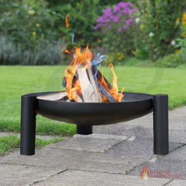 Feuerschale farmcook PAN 38 ☆ (Palma) optional mit Deckel