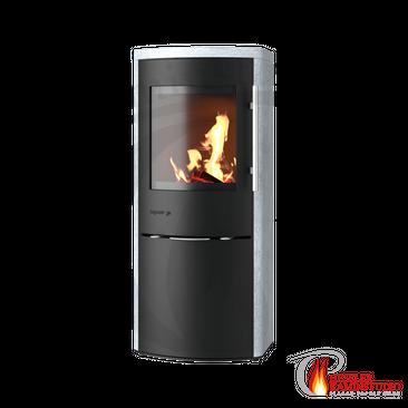 Kaminofen Drooff Garda ☆ 4 kW (mit Abbrandautomatik fire+)