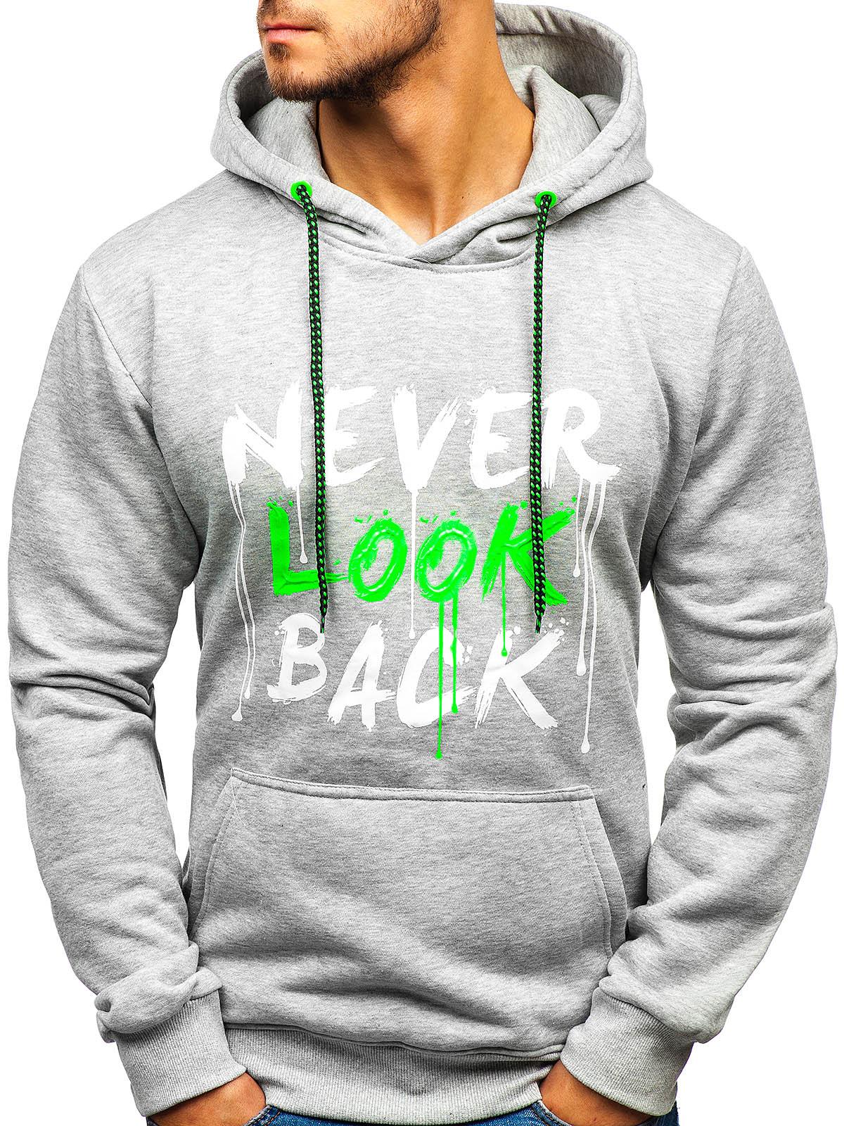 Kapuzenpullover Sweatshirt Pullover Print 3D Hoodie Herren Mix BOLF 1A1 Motiv